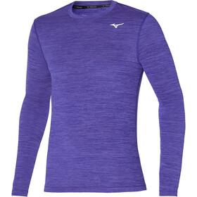 Mizuno Impulse Core Løbetrøje langærmet Herrer, violet